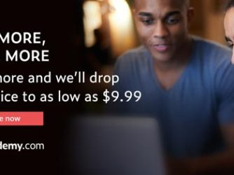 Buy More Save More Sale on Udemy – $9.99 Course Each